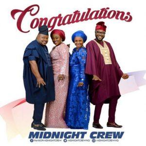 Congratulations by Midnight crew
