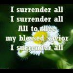Hymn Download: All To Jesus I Surrender (I Surrender All)